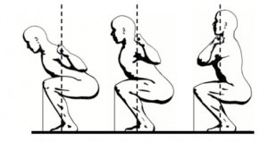 Техника приседания со штангой